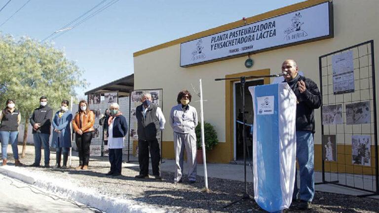 Tucumán: Inauguraron nueva planta procesadora de leche en Trancas