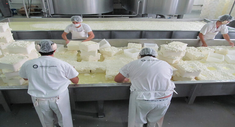 Cooperativas se unieron para exportar quesos