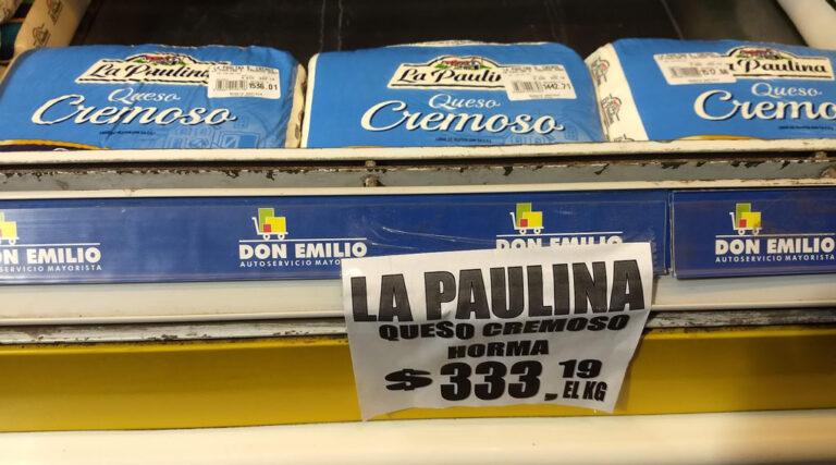 Malestar en el sector pyme por acuerdo Saputo-gobierno para frenar el precio de los quesos