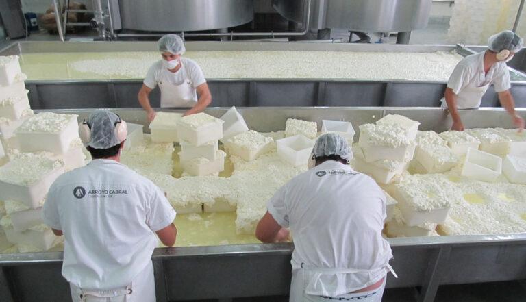 Los quesos en fábrica levantan vuelo y van por más