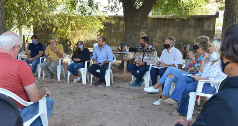 El director de Lechería recorrió tambos y pymes lácteas en Santa Fe