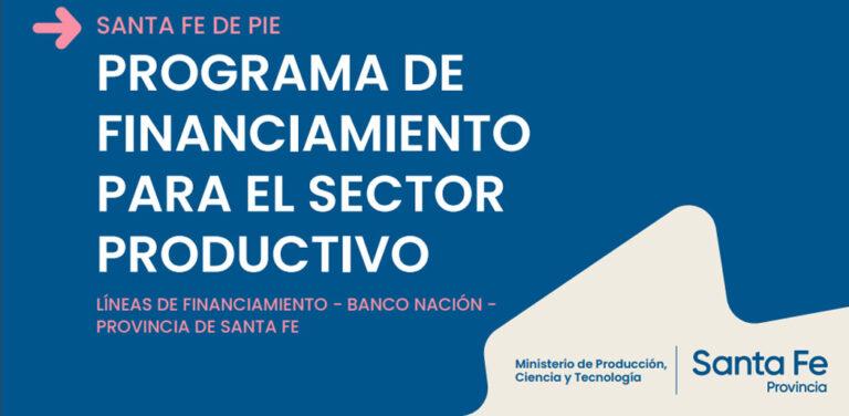 Santa Fe lanzó programa de financiamiento para actividades productivas y obras hidroviales