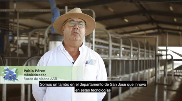 Uruguay: Un tambo en San José innovó con tecnologías de economía circular