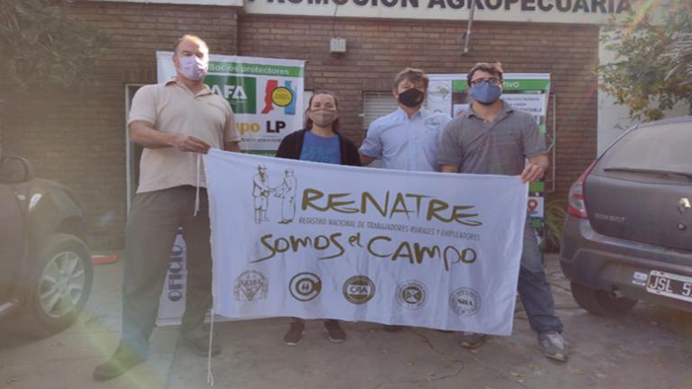 El Renatre participó de un curso sobre el «Oficio Técnico Tambero»
