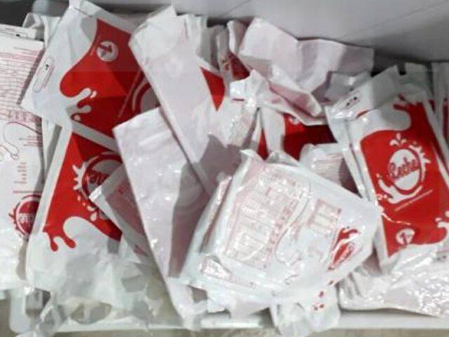 Primera entrega de envases de leche recuperados para su reciclaje